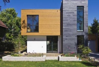 Ein Haus mit einem Flachdach, Flachdachsanierung
