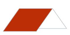 Illustration von Steildach mit roter Dachfläche nach erfolgreicher Dachsanierung mit MeinDach