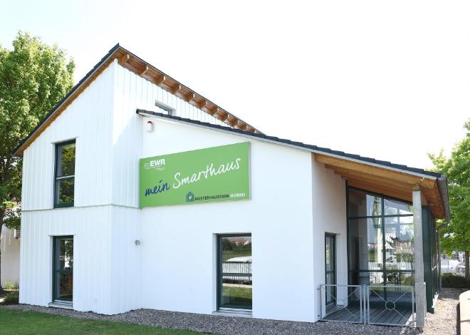 EWR Musterhaus mit SmartHome-Lösungen