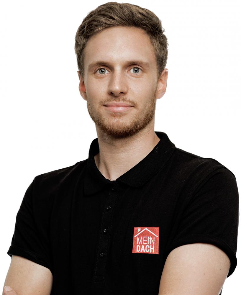 Tobias Reichenbach, Kundenservice. Direkter Kontakt zu MeinDach.