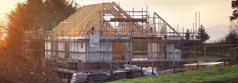 Neubau eines Steildaches